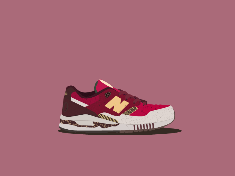 new balance 530 central park by roy handy dribbble