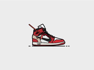 Off-White Jordan 1 atlanta air nike shoes fashion off white jordan air jordan sneakers sneakerhead