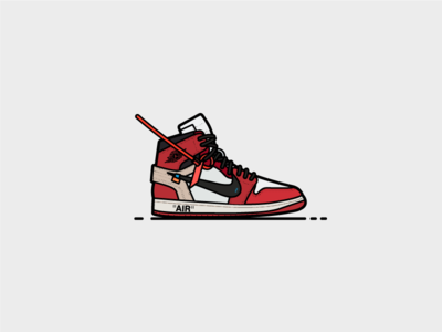 Off-White Jordan 1 atlanta air nike shoes fashion off white jordan air jordan sneakers sneakerhead