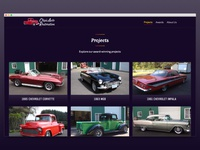 Chip's Auto Restoration - Projects Overview