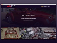 Chip's Auto Restoration - Project Detail Page