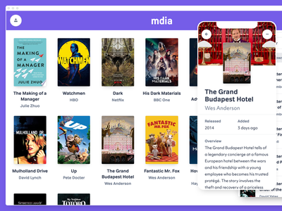 mdia the movie database firebase google books objektiv-mk1 tondo app design app