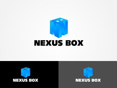Nexus Box Logo Design Project logodesinger logos logotype logoinspiration 3d template logomaker logo design logo