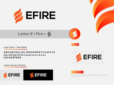 EFire Logo Design Project business company logodesinger ui logoinspiration branding logo design