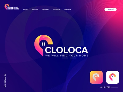 Cloloca Logo Design Project and Branding logomark mark logo design logo illustration designer graphic design creative design company modern smart clever business branding design branding identity brand branding best design app logo