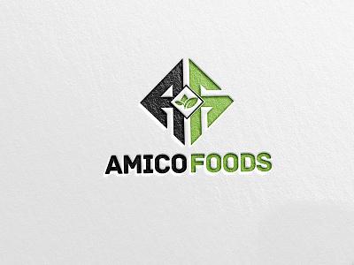 Amico Food Logo logodesinger logo logos logomaker logologo logotipo logotype logout logoinspiration logomark