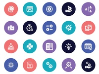 20 Business Icon Set