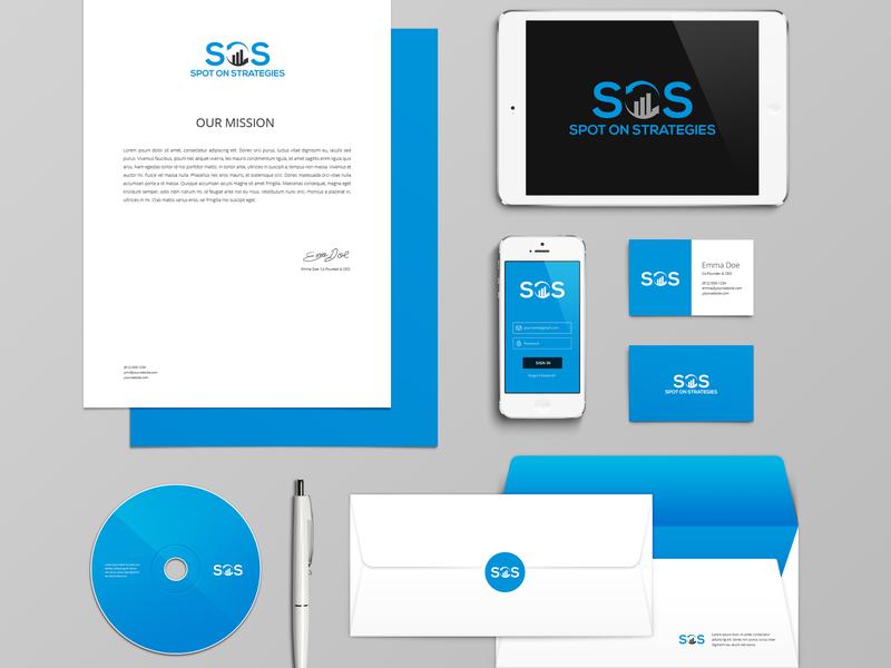 Spot On Strategies Logo logomaker logos logotype logodesinger logoinspiration logo design logo