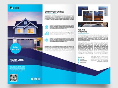 Corporate Trifold Brochure Design