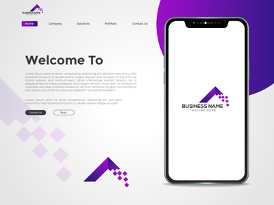 Logo And Landing Page