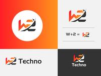 W2 Techno Logo Project