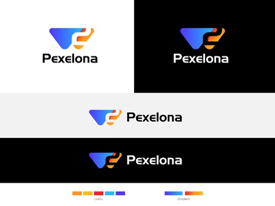 W2 Pexelona Logo Design Project