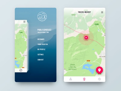 Sierra Trecking App uxdesign appdesign userinterface uidesign travel trekking app ux ui
