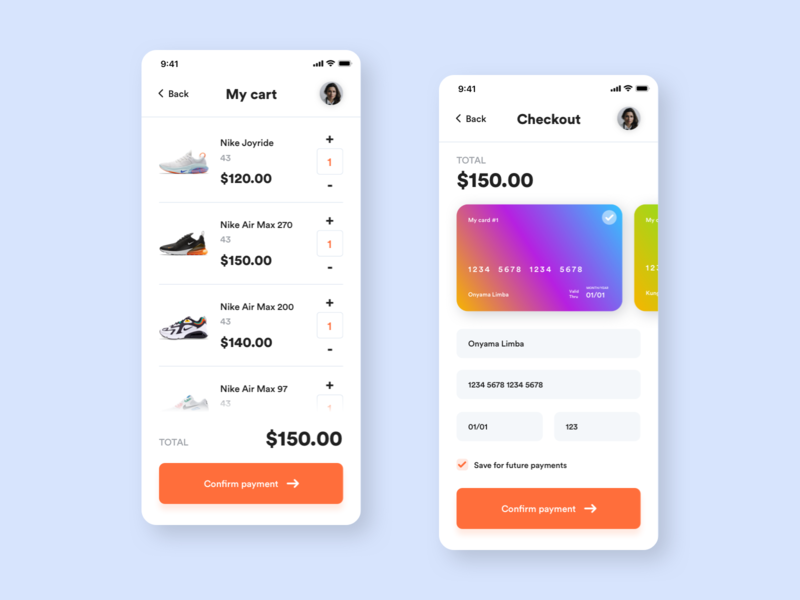 Mobile Checkout Concept