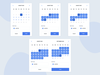 Date/Time Picker mobile calendar agenda time picker datepicker date picker time date web sketch webdesign interface ux ui design