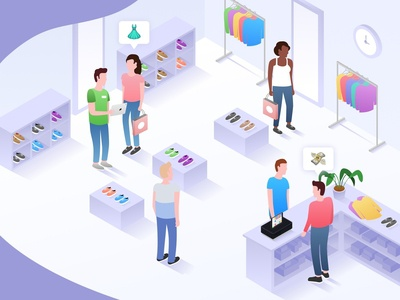 Isometric point of sale
