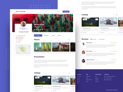 Marketplace Profile Page