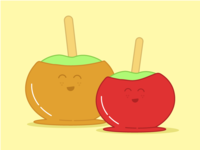 Caramel & Candy Apples