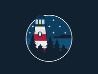 Lighthouse Doodle v3
