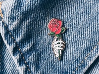 Rose - Enamel Pin