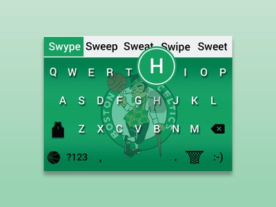Celtics | Mobile Keyboard Skin