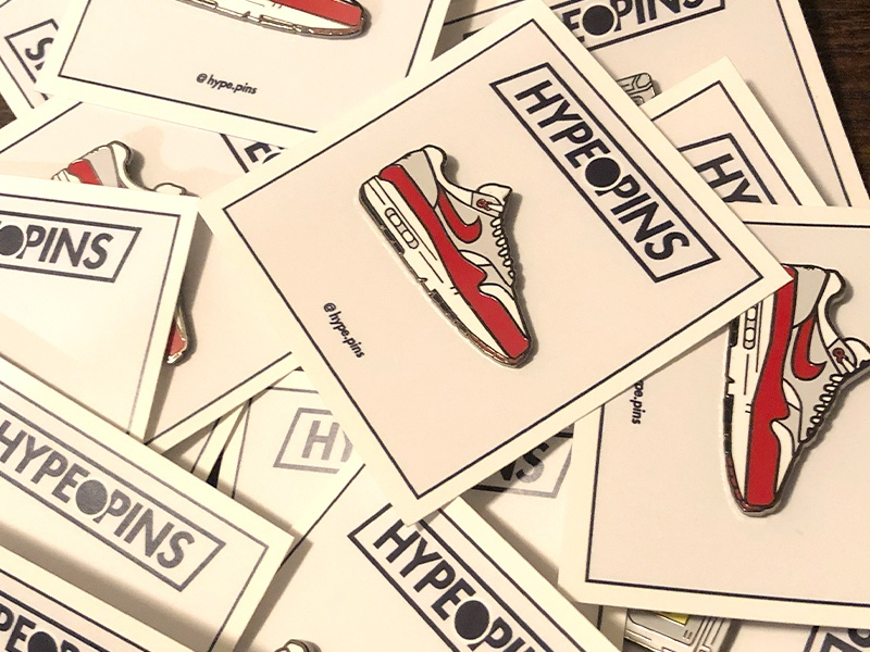 AirMax 1 Hard Enamel Pins by Brian Ung on Dribbble