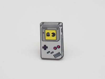 Game Boy Pac Man Pin