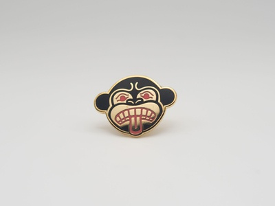Massive Monkee Native Pin