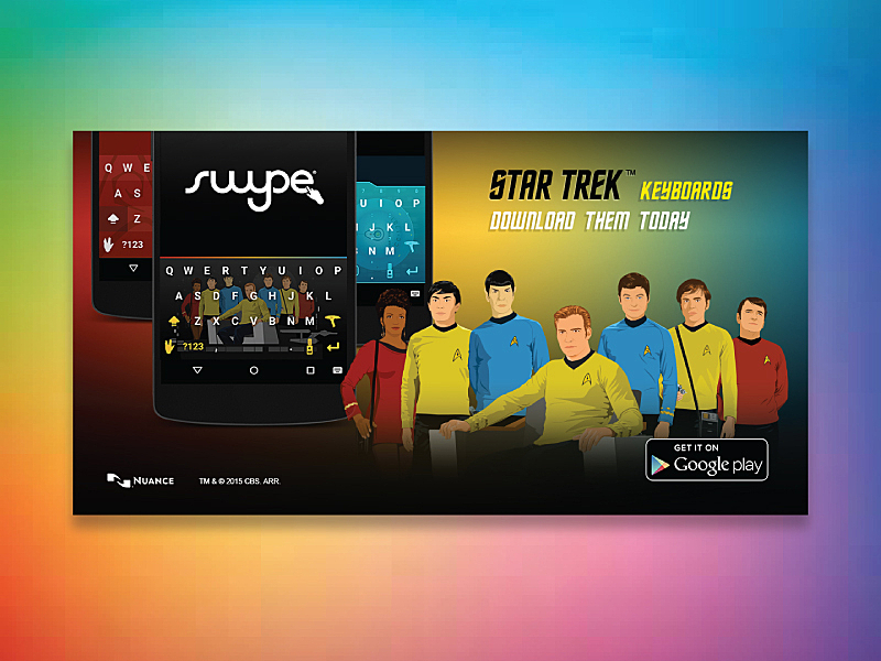 Star Trek Keyboard Banner By Brian Ung On Dribbble