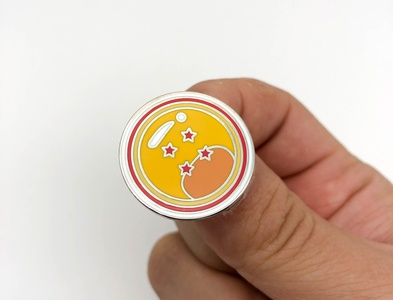 Four Star Dragon Ball Pin