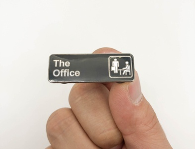 The Office Label Pin