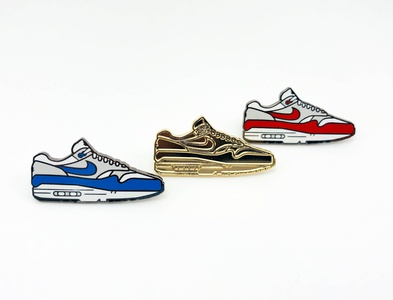 Airmax 1 Nike Shoe Pin