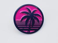 Tropical Haze - Silver City Pin