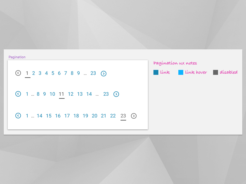 Pagination ux pagination