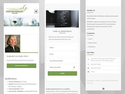 Saint Louis Park Psychotherapy Services theme customization wordpress freelance
