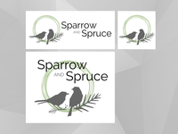 Logo Design:  Sparrow and Spruce