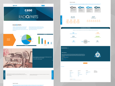 Case Studies print css highcharts wordpress responsive case-study