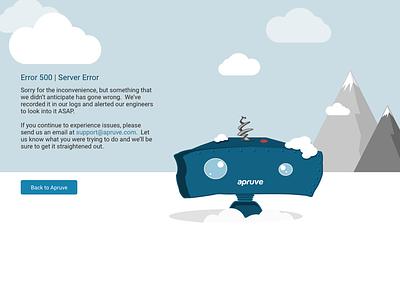 Error 500: Server Error svg responsive error 500 error page