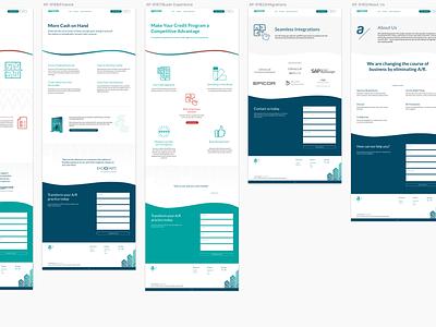 Apruve 2019 Rebranding Wordpress Site sketch design ui wordpress responsive