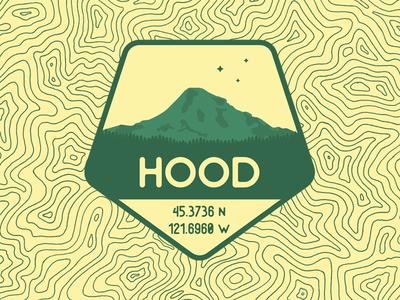 Mount Hood mount hood badge logo hood oregon mountains
