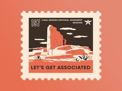 Casa Grande Stamp