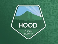 Mt. Hood Badge