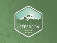 Mt. Jefferson Badge