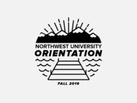 Northwest University Orientation Logo Concept