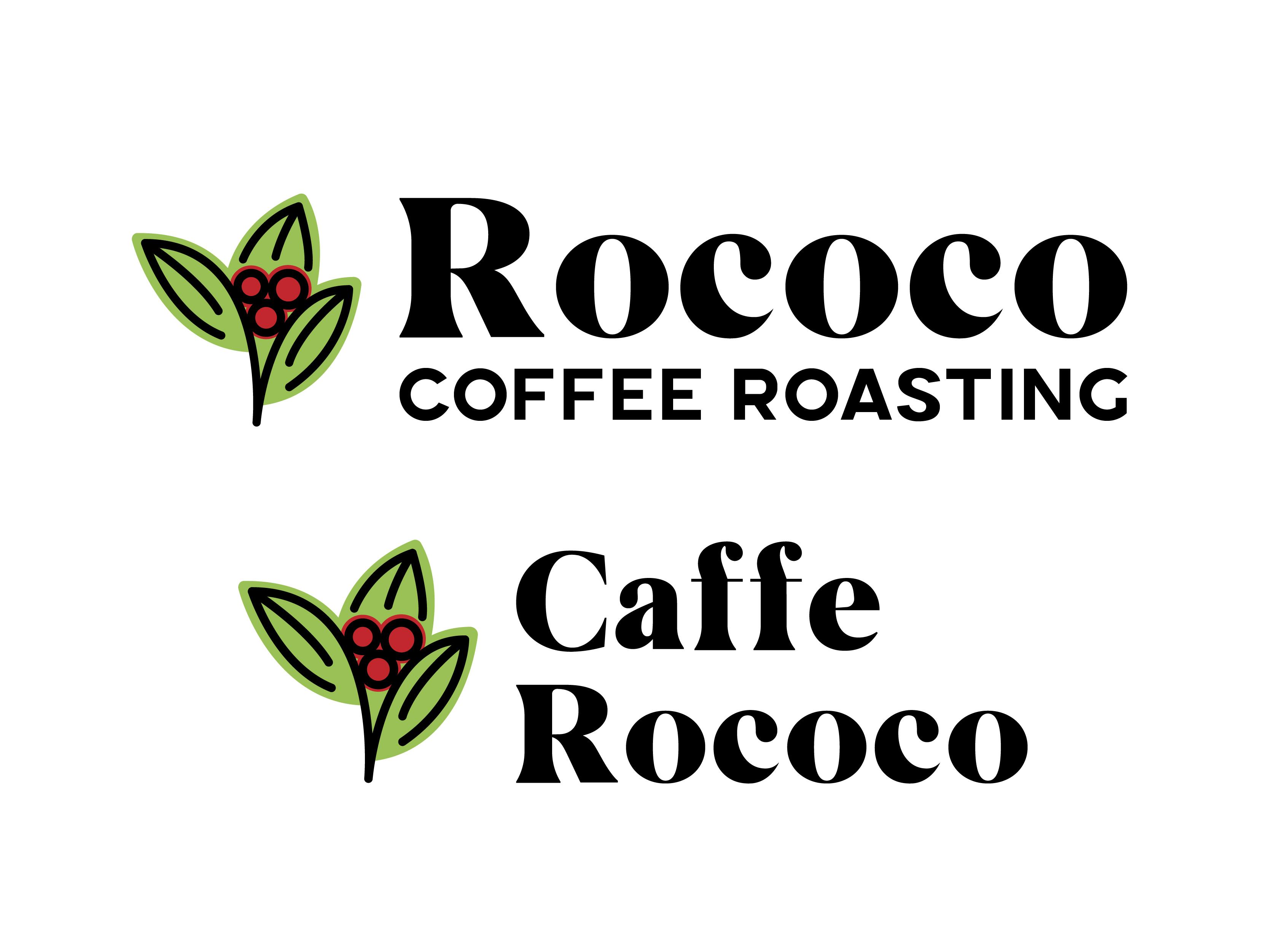 Rococo coffee branding 1