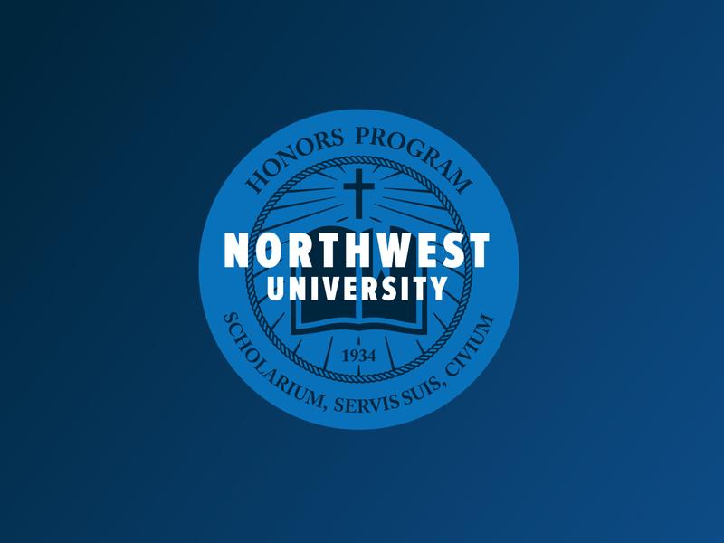 Logo Concept for Northwest University's Honors Program logo design school academic 1934 northwest university program logo honors