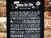Lululemon Manifesto Board