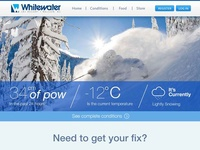 WhiteWater Ski Resort Redesign