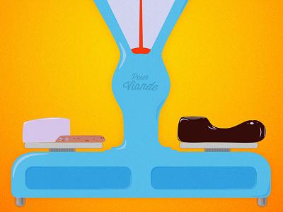 Delicatessen Movie Poster movie poster delicatessen illustrator photoshop