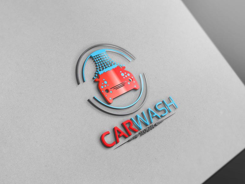 Car Wash Logo By Josuf Media On Dribbble
